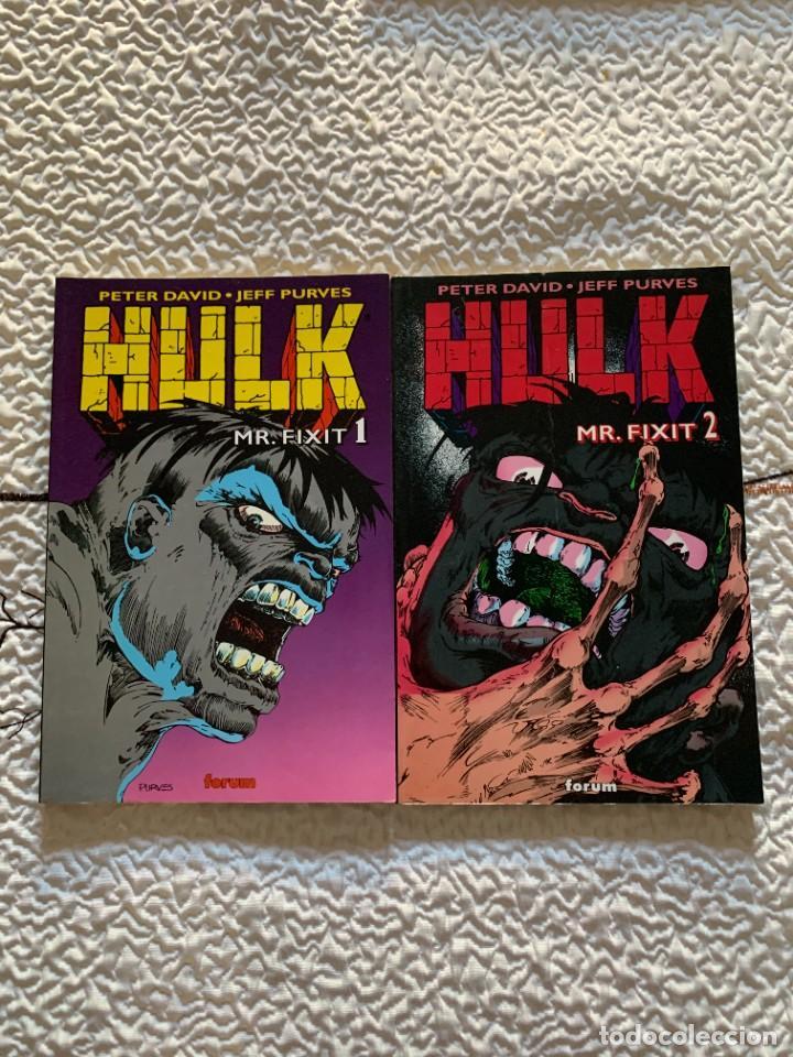 Cómics: Espectacular lote de Hulk - Forum (16 años USA completos) - Foto 5 - 262649295