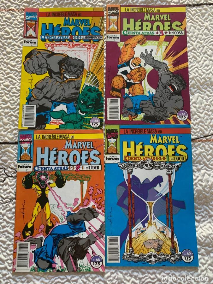 Cómics: Espectacular lote de Hulk - Forum (16 años USA completos) - Foto 6 - 262649295