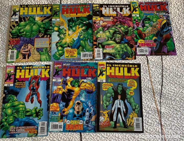 Cómics: Espectacular lote de Hulk - Forum (16 años USA completos) - Foto 20 - 262649295