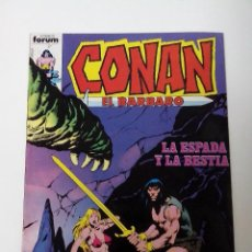 Cómics: COMIC CONAN EL BARBARO Nº 51 LA ESPADA Y LA BESTIA. Lote 262649310
