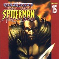 Comics: ULTIMATE SPIDERMAN VOL.1 Nº 15 FORUM. Lote 262692460