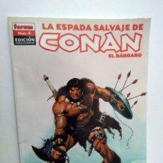 Cómics: LA ESPADA SALVAJE DE CONAN EL BARBARO - COMICS FORUM Nº 4 - EDICION COLECCIONISTAS. Lote 262693445