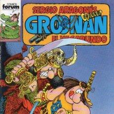 Cómics: GROONAN VOL.1 Nº 6 - FORUM. GROO. SERGIO ARAGONES.. Lote 262695780