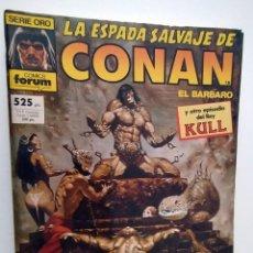 Cómics: LA ESPADA SALVAJE DE CONAN - COMICS FORUM - INCLUYE CINCO NUMEROS. Lote 262695920