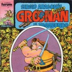 Cómics: GROONAN VOL.1 Nº 8 - FORUM. GROO. SERGIO ARAGONES.. Lote 262696225