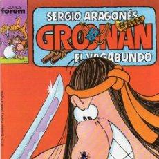 Cómics: GROONAN VOL.1 Nº 11 - FORUM. GROO. SERGIO ARAGONES.. Lote 262696890