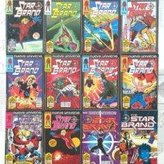 Cómics: STAR BRAND DE JOHN ROMITA JR. NUEVO UNIVERSO. C.COMPLETA DE 12 COMICS. FORUM 1988. Lote 262779700