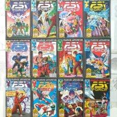 Cómics: PSI-FORCE DE MARK TEXEIRA. NUEVO UNIVERSO. C.COMPLETA DE 12 COMICS. FORUM 1988. Lote 262782570