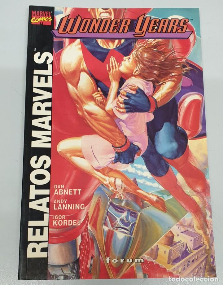 RELATOS MARVELS Nº 11 : WONDER YEARS / DAN ABNETT / FORUM (Tebeos y Comics - Forum - Otros Forum)