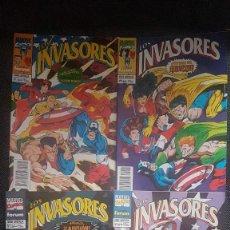 Cómics: INVASORES (OBRA COMPLETA 4 NÚMEROS) - FORUM. Lote 263008300
