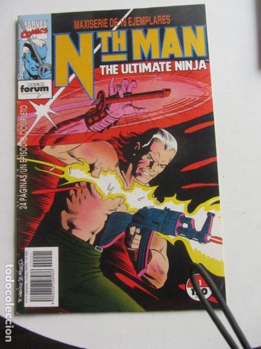 NTH MAN THE ULTIMATE NINJA - Nº 1 - MARVEL - FORUM - N TH MAN X97 (Tebeos y Comics - Forum - Otros Forum)