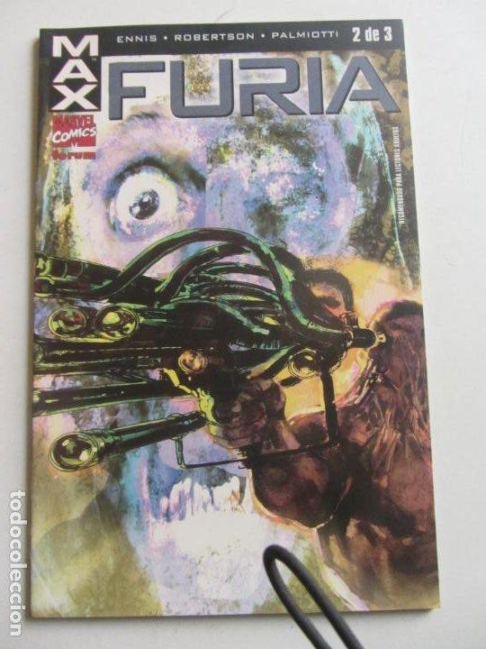 MAX : FURIA Nº 2 - GARTH ENNIS - ROBERTSON FORUM ARX97 (Tebeos y Comics - Forum - Otros Forum)