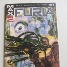 Cómics: MAX : FURIA Nº 2 - GARTH ENNIS - ROBERTSON FORUM ARX97. Lote 263033250