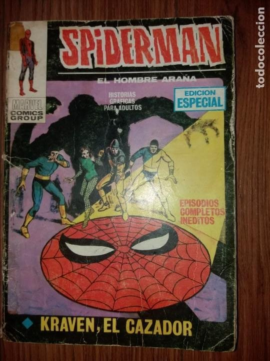 SPIDERMAN V1 VERTICE N 7 1ª EDICION (Tebeos y Comics - Forum - Spiderman)