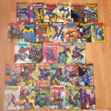 Cómics: SPIDERMAN 2099 DE PETER DAVID V1 Y V2 + 2 ESPECIALES. COMPLETAS 30 COMICS. FORUM 1994. Lote 263064540