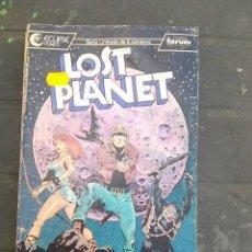 Cómics: LOST PLANET Nº 1 (ECLIPSE - FORUM, 1987). Lote 263169730