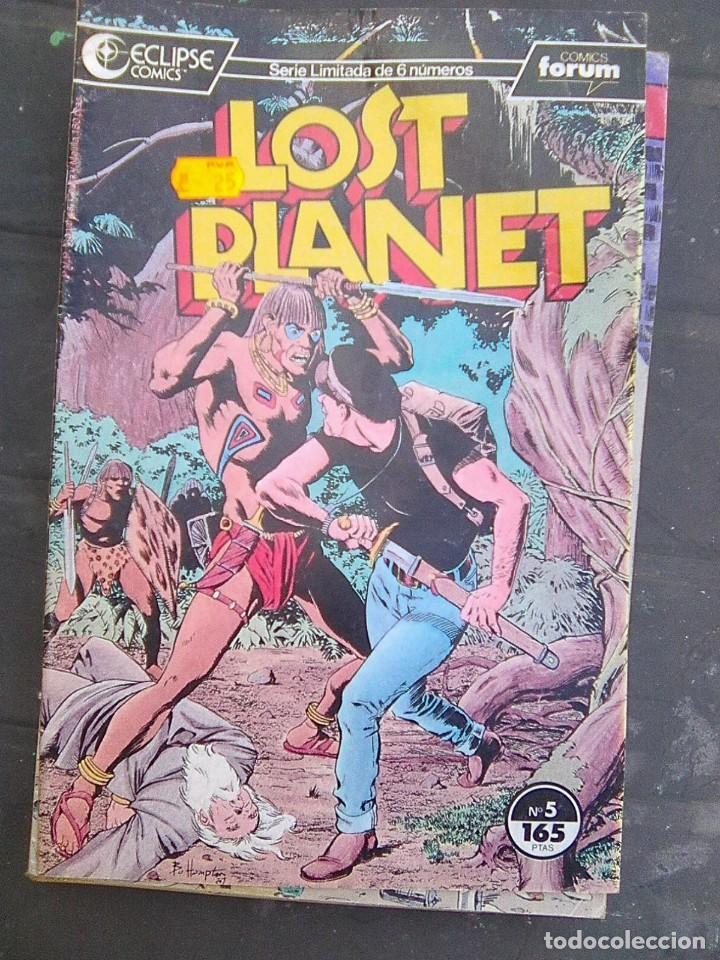 LOST PLANET Nº 5 (ECLIPSE - FORUM, 1987) (Tebeos y Comics - Forum - Otros Forum)