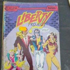 Cómics: LIBERTY PROJECT Nº 1 (ECLIPSE - FORUM, 1987). Lote 263170460