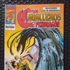 Cómics: DESCATALOGADO-FORUM-LOS CABALLEROS DE PENDRAGON Nº 3-1990-VFN-BOLSA & BACKBOARD. Lote 263181110