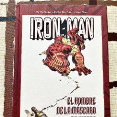 Cómics: IRON MAN. TOMO TAPA DURA. EL HOMBRE DE LA MÁSCARA DE HIERRO.. Lote 263188610