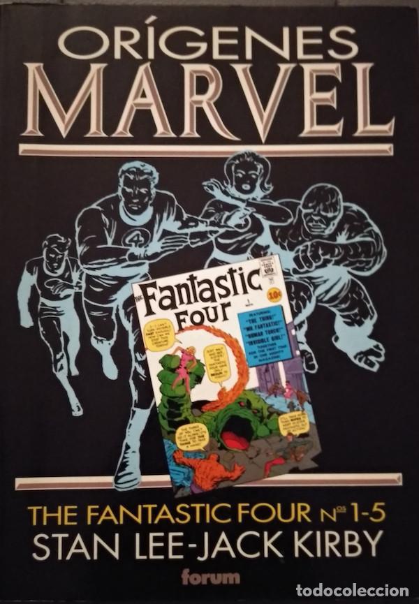 ORÍGENES MARVEL: LOS 4 FANTÁSTICOS (Tebeos y Comics - Forum - 4 Fantásticos)