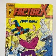 Cómics: FACTOR-X. Nº 12.- LLEGA... ¡BUM BUM!. COMICS FORUM.. Lote 263236630