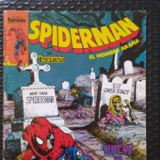Cómics: DESCATALOGADO-SPIDERMAN #214-SPANISH EDITION-FORUM-FN-BOLSA Y BACKBOARD. Lote 263259665