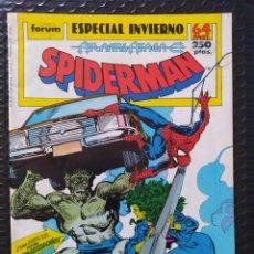 Cómics: DESCATALOGADO-SPIDERMAN ESPECIAL INVIERNO -SPANISH EDITION-FORUM-FN-BOLSA Y BACKBOARD. Lote 263260040