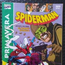Cómics: DESCATALOGADO-SPIDERMAN EXTRA PRIMAVERA -SPANISH EDITION-FORUM-FN-BOLSA Y BACKBOARD. Lote 263260125