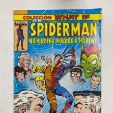 Cómics: COLECCION WHAT IF? Nº15.- ¿Y SI SPIDERMAN NO HUBIERA PERDIDO A TIO BEN? COMICS FORUM. Lote 263293525