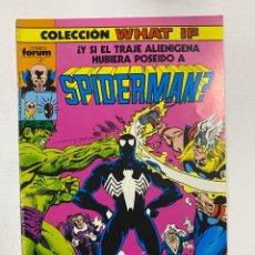Cómics: COLECCION WHAT IF? Nº10.- ¿Y SI EL TRAJE ALIENIGENA HUBIERA POSEIDO A SPIDERMAN? COMICS FORUM. Lote 263293925