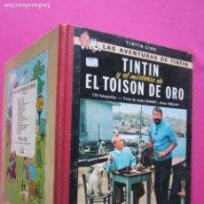 Comics : TINTIN Y EL MISTERIO DE EL TOISON DE ORO JUVENTUD AÑO 1968. Lote 263572045