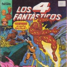 """Cómics: CÓMIC MARVEL """" LOS 4 FANTÁSTICOS """" Nº 82 ED, PLANETA / FORUM.( 1989 ) LODELSCOMICS. Lote 263580350"""