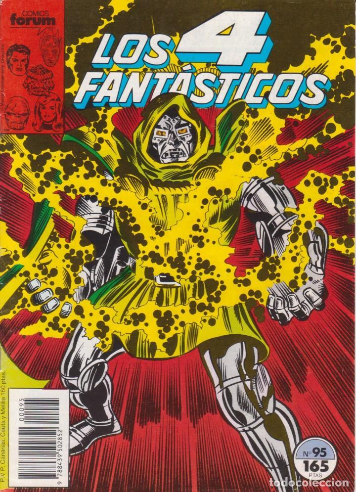 """CÓMIC MARVEL """" LOS 4 FANTÁSTICOS """" Nº 95 ED, PLANETA / FORUM.( 1989 ) LODELSCOMICS (Tebeos y Comics - Forum - Otros Forum)"""