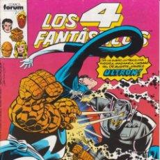 """Cómics: CÓMIC MARVEL """" LOS 4 FANTÁSTICOS """" Nº 96 ED, PLANETA / FORUM.( 1989 ) LODELSCOMICS. Lote 263581285"""
