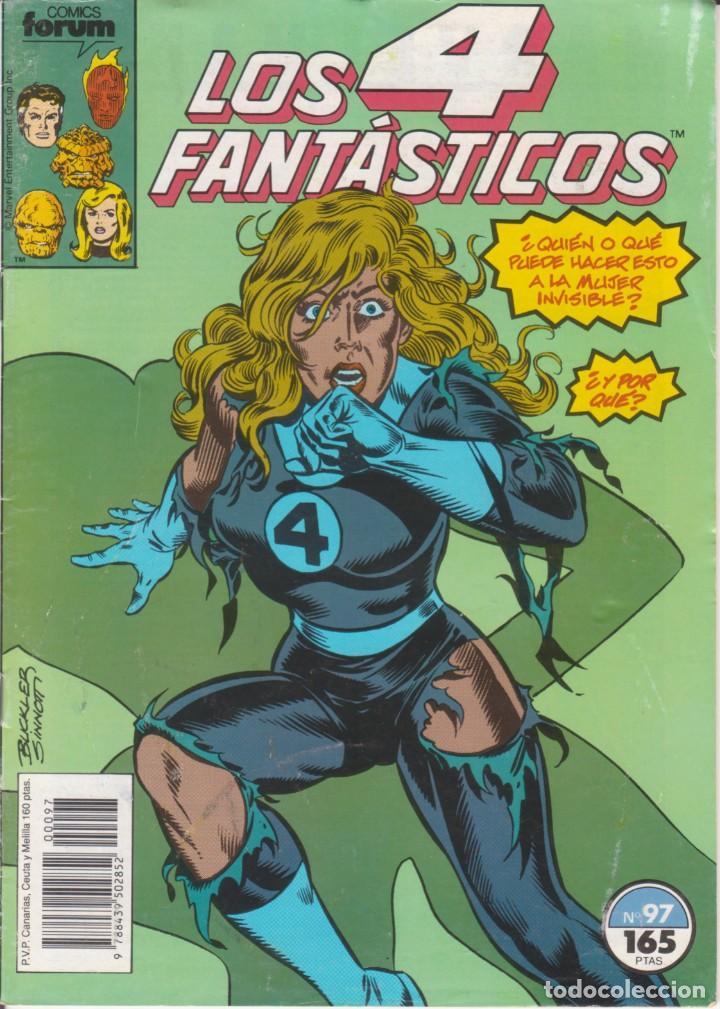 """CÓMIC MARVEL """" LOS 4 FANTÁSTICOS """" Nº 97 ED, PLANETA / FORUM.( 1989 ) LODELSCOMICS (Tebeos y Comics - Forum - Otros Forum)"""