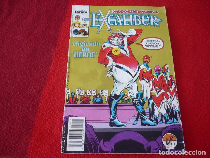 EXCALIBUR VOL. 1 Nº 17 DIMENSIONES ALTERNATIVAS 6 ( CLAREMONT ALAN DAVIS ) MARVEL FORUM (Tebeos y Comics - Forum - Otros Forum)