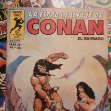 Comics: LA ESPADA SALVAJE DE CONAN EL BARBARO VOL. 1 # 38 (FORUM) - PRIMERA EDICION 1985. Lote 263627895