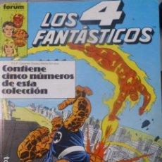 Cómics: COMIC LOS 4 FANTASTICOS DEL 76 AL 80. Lote 263973125