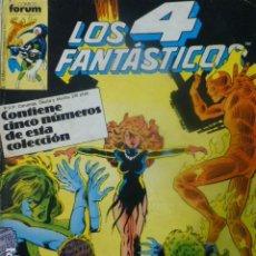 Cómics: COMIC LOS 4 FANTASTICOS DEL 57 AL 60. Lote 263974170