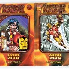 Cómics: TESOROS MARVEL: IRON MAN LOS AÑOS PERDIDOS 1 Y 2 (MICHELINIE & ROMITA JR) ~ MARVEL / FORUM (1999). Lote 264021650