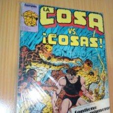 Cómics: LA COSA FORUM RETAPADO NºS 11 12 13 14 15. Lote 264078405