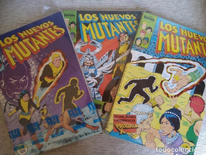 LOS NUEVOS MUTANTES. VOL 1. Nº 1 AL 65. COMPLETA + 2 EXTRAS. (Tebeos y Comics - Forum - Nuevos Mutantes)