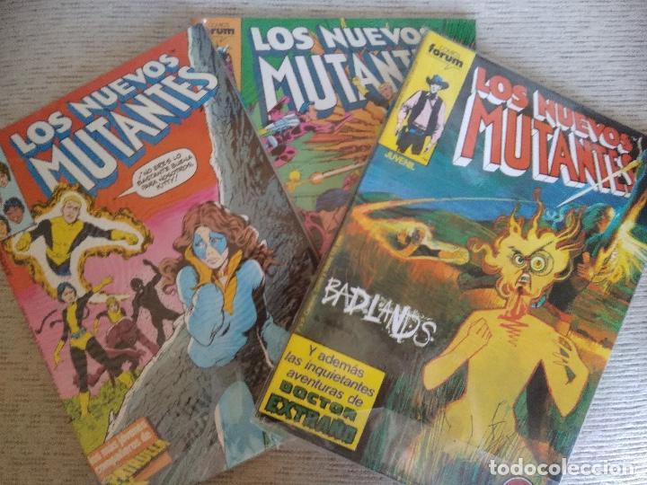 Cómics: LOS NUEVOS MUTANTES. VOL 1. Nº 1 AL 65. COMPLETA + 2 EXTRAS. - Foto 2 - 264168016