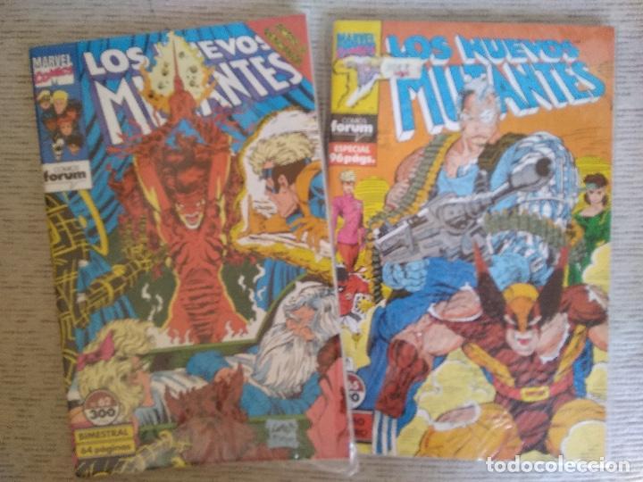 Cómics: LOS NUEVOS MUTANTES. VOL 1. Nº 1 AL 65. COMPLETA + 2 EXTRAS. - Foto 7 - 264168016