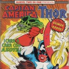 Comics : CAPITAN AMERICA VOL. 1 Nº 61 PROCEDE DE RETAPADO - FORUM - MUY BUEN ESTADO - SUB01M. Lote 264237900