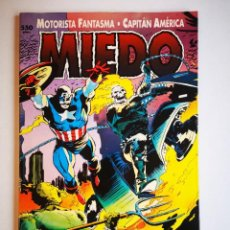 Cómics: MOTORISTA FANTASMA AND CAPITAN AMERICA - MIEDO - PRESTIGIO. Lote 264253076