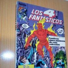 Cómics: LOS 4 FANTASTICOS FORUM RETAPADO NºS 61 62 63 64 65 MUY BUEN ESTADO. Lote 264278972