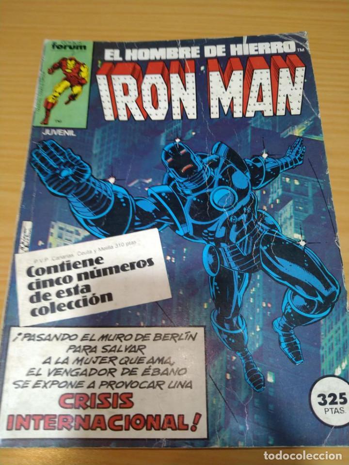 IRON MAN RETAPADO NºS 6 7 8 9 10 FORUM VOLUMEN 1 (Tebeos y Comics - Forum - Iron Man)