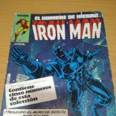 Comics: IRON MAN RETAPADO NºS 6 7 8 9 10 FORUM VOLUMEN 1. Lote 264282136